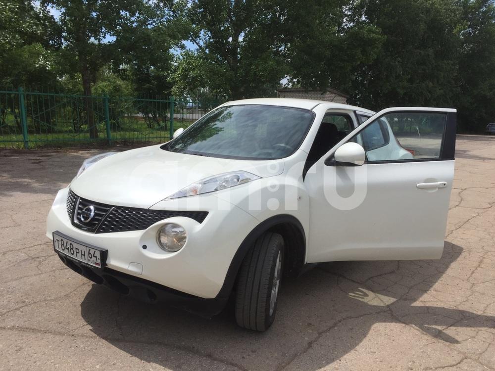 Подержанный Nissan Juke, отличное состояние, белый , 2013 года выпуска, цена 510 000 руб. в Саратове
