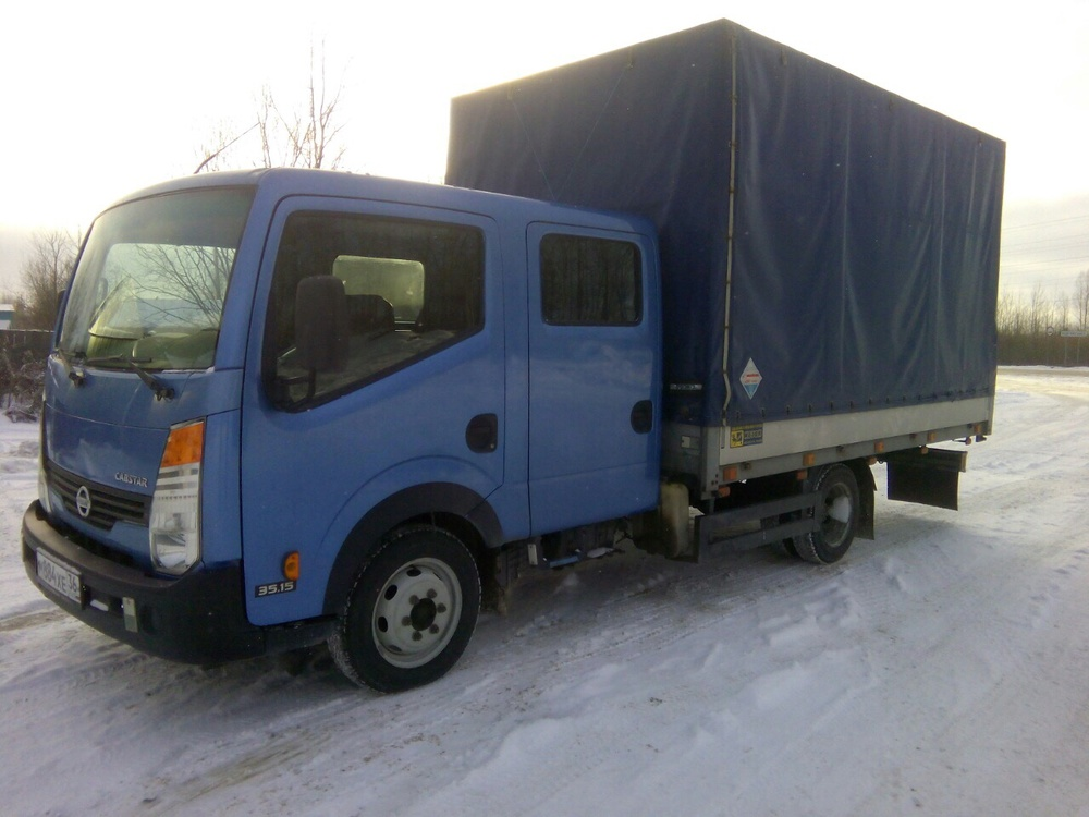Подержанный Nissan Cabstar, хорошее состояние, синий , 2010 года выпуска, цена 650 000 руб. в ао. Ханты-Мансийском Автономном округе - Югре
