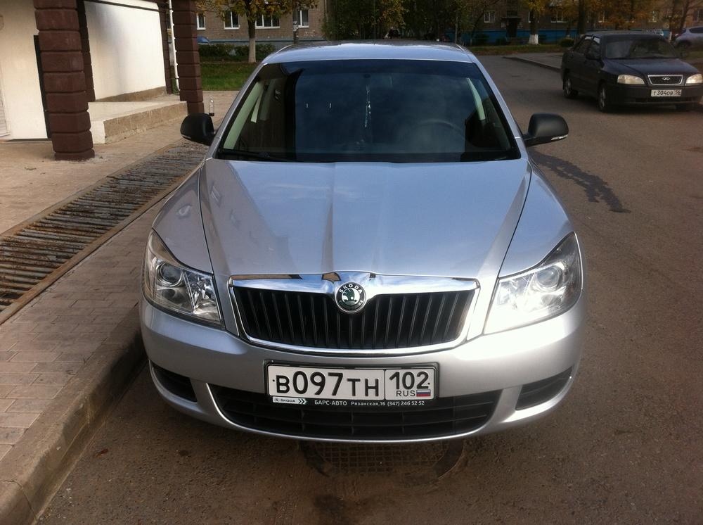 Подержанный Skoda Octavia, отличное состояние, серебряный , 2010 года выпуска, цена 515 000 руб. в республике Татарстане