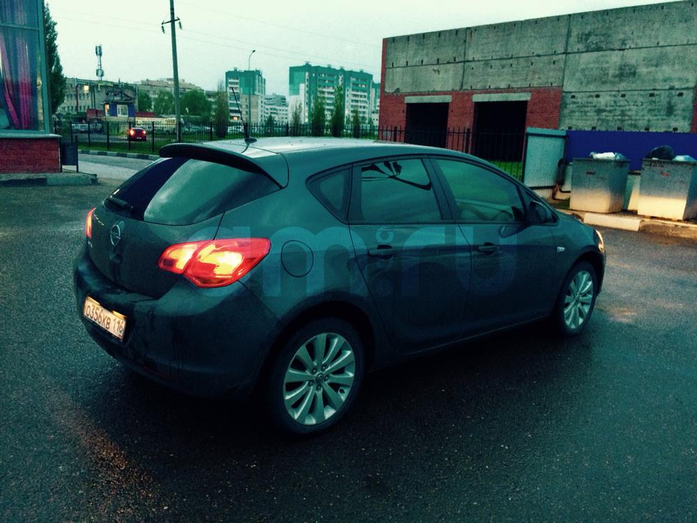 Подержанный Opel Astra, отличное состояние, серый , 2011 года выпуска, цена 540 000 руб. в республике Татарстане