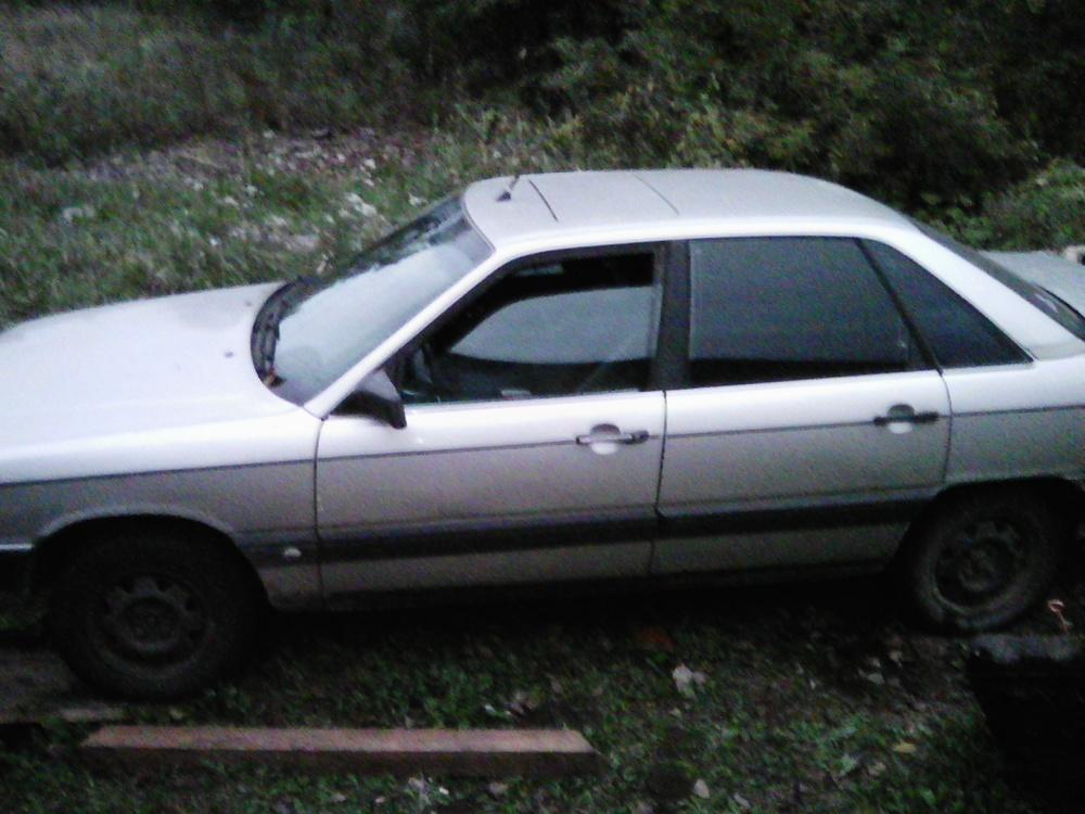 Подержанный Audi 100, среднее состояние, серый , 1987 года выпуска, цена 50 000 руб. в Смоленской области