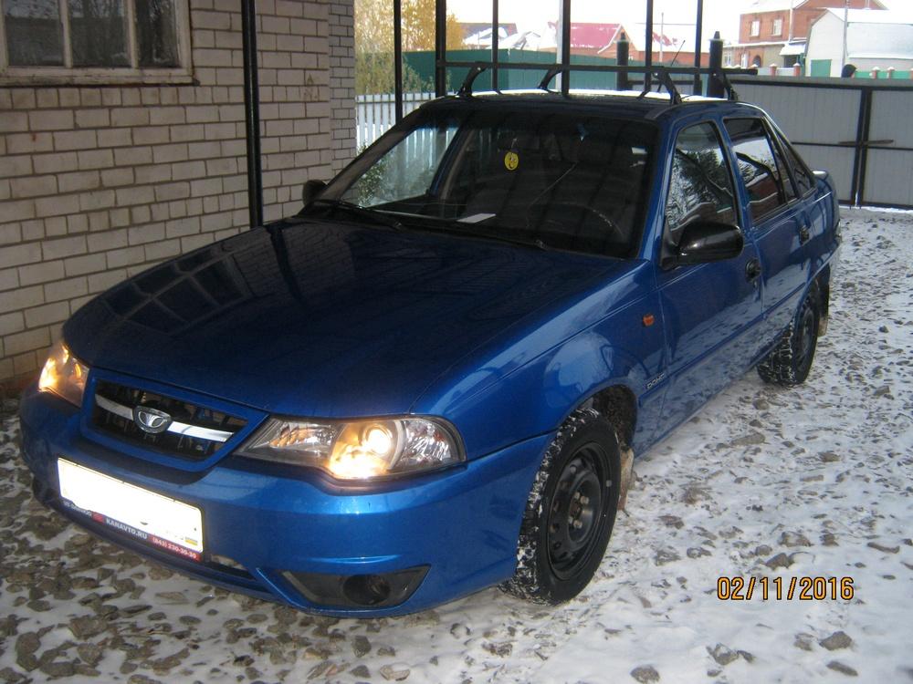 Подержанный Daewoo Nexia, хорошее состояние, синий , 2009 года выпуска, цена 145 000 руб. в республике Татарстане