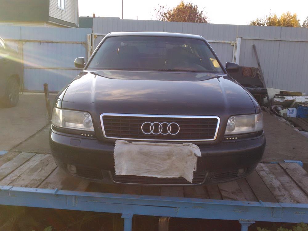 Подержанный Audi A8, отличное состояние, черный , 1996 года выпуска, цена 330 000 руб. в республике Татарстане