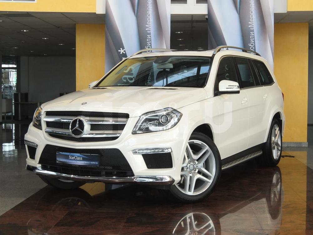Mercedes-Benz GL-Класс с пробегом, белый , отличное состояние, 2015 года выпуска, цена 4 550 000 руб. в автосалоне  ()