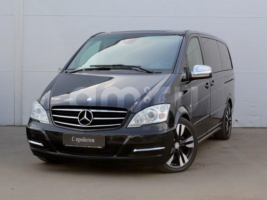 Mercedes-Benz Viano с пробегом, черный , отличное состояние, 2013 года выпуска, цена 1 989 000 руб. в автосалоне  ()
