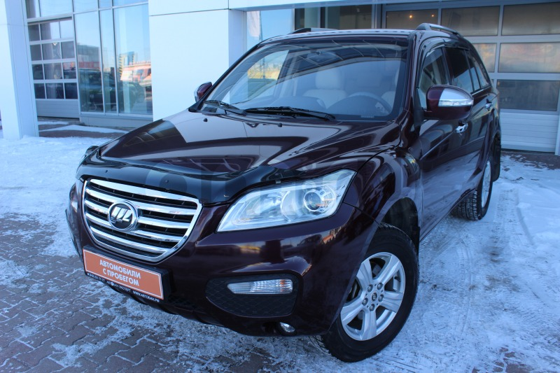 Lifan X60 с пробегом, бордовый , отличное состояние, 2013 года выпуска, цена 419 000 руб. в автосалоне  ()