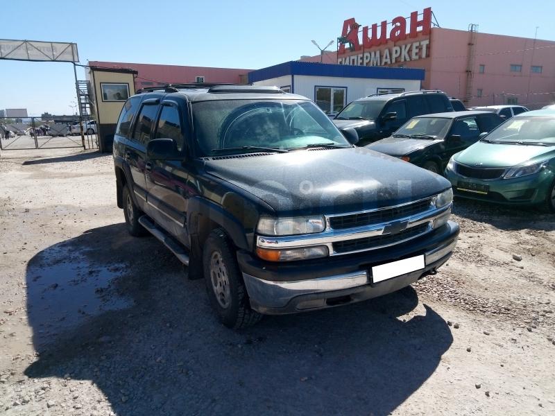 Chevrolet Tahoe с пробегом, черный , отличное состояние, 2004 года выпуска, цена 370 000 руб. в автосалоне Авто-Брокер на Антонова-Овсеенко (Самара, ул. Антонова-Овсеенко, д. 51Ж)