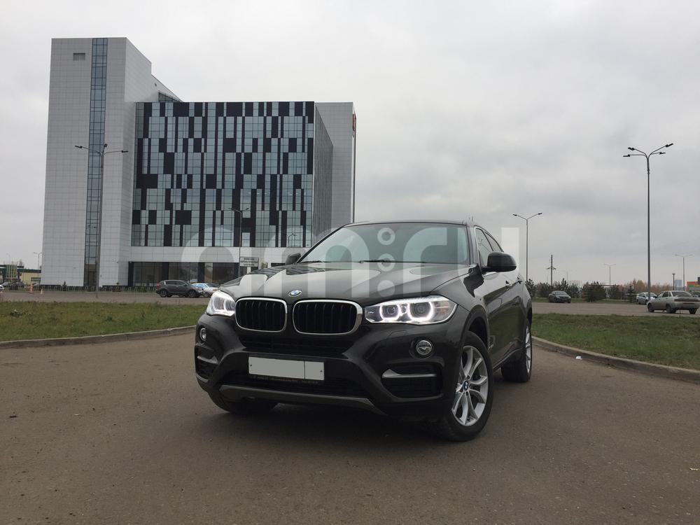 Подержанный BMW X6, отличное состояние, коричневый металлик, 2016 года выпуска, цена 4 290 000 руб. в республике Татарстане