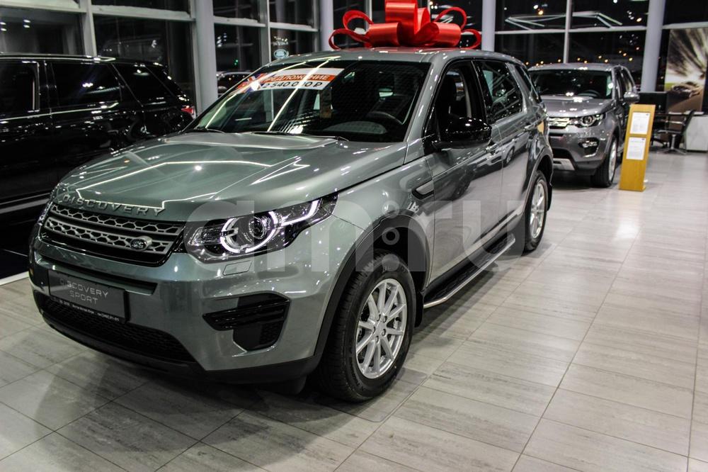 Land Rover Discovery Sport с пробегом, зеленый , отличное состояние, 2015 года выпуска, цена 2 400 000 руб. в автосалоне Тойота Центр Сургут Юг (Сургут, тракт Югорский, д. 23, стр. 1)