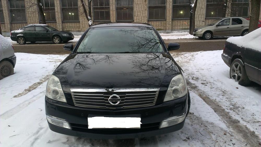 Подержанный Nissan Teana, хорошее состояние, черный металлик, 2007 года выпуска, цена 600 000 руб. в Пскове