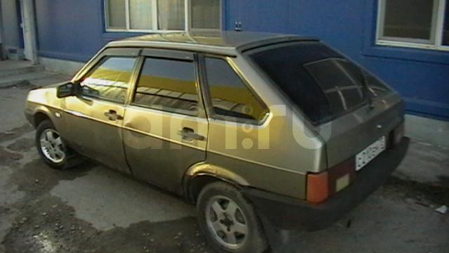 Подержанный ВАЗ (Lada) 2109, хорошее состояние, серый металлик, 2002 года выпуска, цена 65 000 руб. в Ульяновске