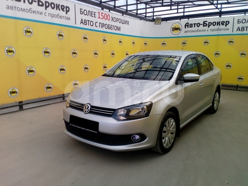 Volkswagen Polo с пробегом, серебряный , отличное состояние, 2011 года выпуска, цена 400 000 руб. в автосалоне Авто-Брокер на Антонова-Овсеенко (Самара, ул. Антонова-Овсеенко, д. 51Ж)