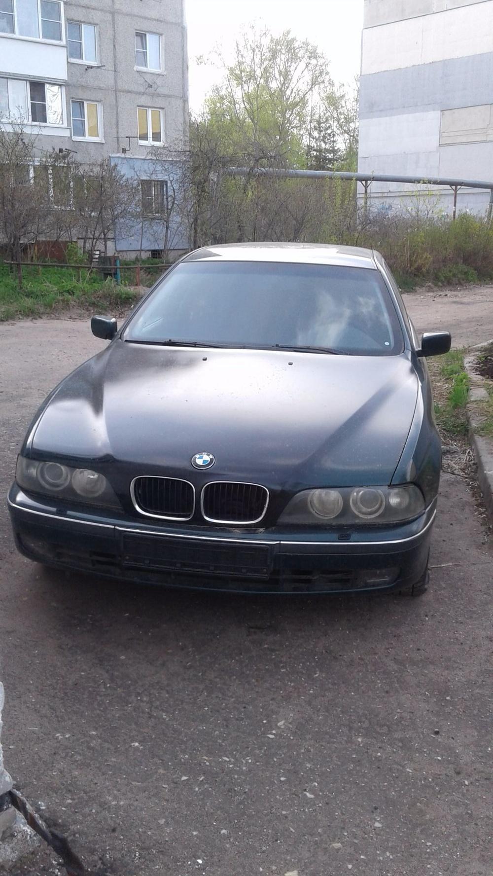 Подержанный BMW 5 серия, хорошее состояние, зеленый , 1996 года выпуска, цена 240 000 руб. в Нижнем Новгороде