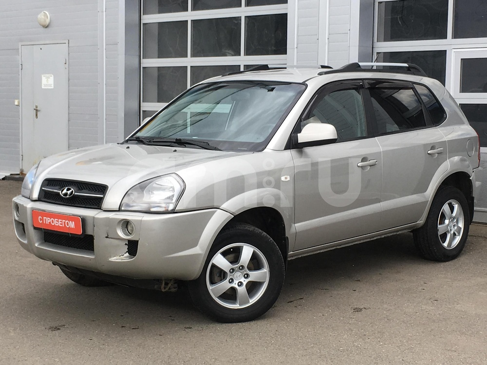 Hyundai Tucson с пробегом, серебряный металлик, хорошее состояние, 2007 года выпуска, цена 415 000 руб. в автосалоне МАРКА Казань (Казань, ул. Маршала Чуйкова, д. 54Б)