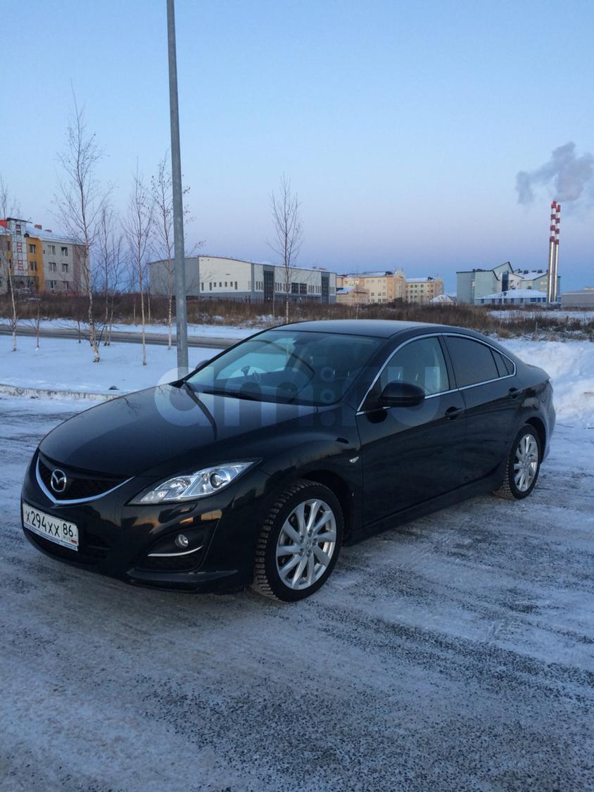 Подержанный Mazda 6, хорошее состояние, черный , 2011 года выпуска, цена 650 000 руб. в ао. Ханты-Мансийском Автономном округе - Югре