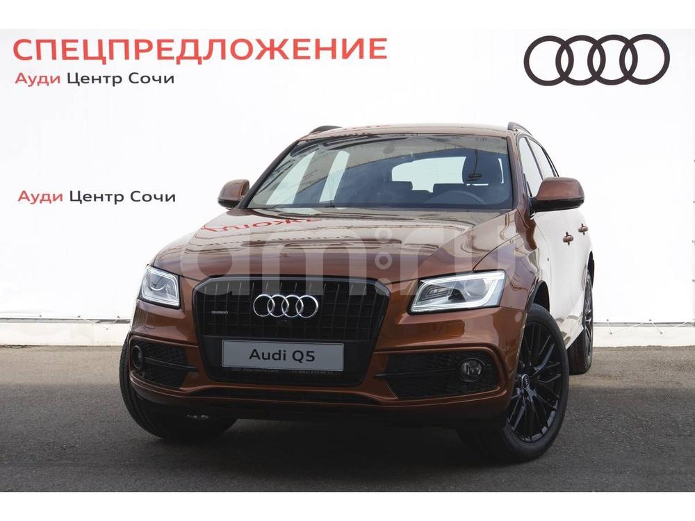 Новый авто Audi Q5, серый , 2016 года выпуска, цена 2 890 000 руб. в автосалоне Ауди Центр Сочи (Сочи, ул. Кипарисовая, д. 16/1)