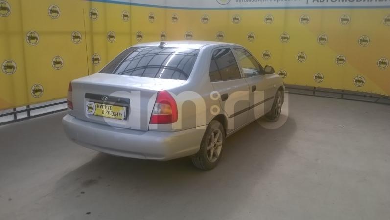 Hyundai Accent с пробегом, серебряный , отличное состояние, 2003 года выпуска, цена 170 000 руб. в автосалоне Авто-Брокер на Антонова-Овсеенко (Самара, ул. Антонова-Овсеенко, д. 51Ж)