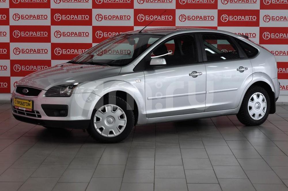 Ford Focus с пробегом, серебряный , отличное состояние, 2007 года выпуска, цена 290 000 руб. в автосалоне  ()