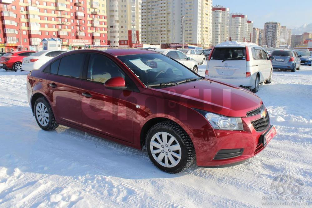 Chevrolet Cruze с пробегом, красный , отличное состояние, 2011 года выпуска, цена 455 000 руб. в автосалоне  ()
