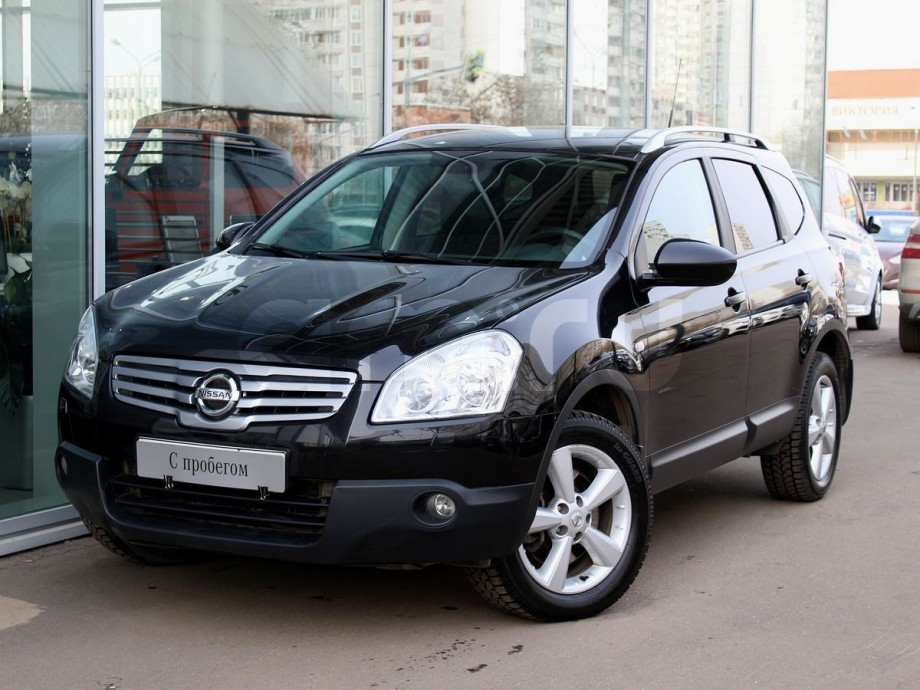 Nissan Qashqai+2 с пробегом, черный , отличное состояние, 2009 года выпуска, цена 659 000 руб. в автосалоне  ()