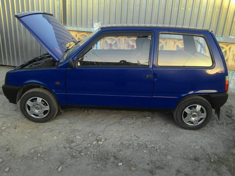 Подержанный ВАЗ (Lada) 1111 Ока, отличное состояние, синий , 2003 года выпуска, цена 105 000 руб. в Крыму