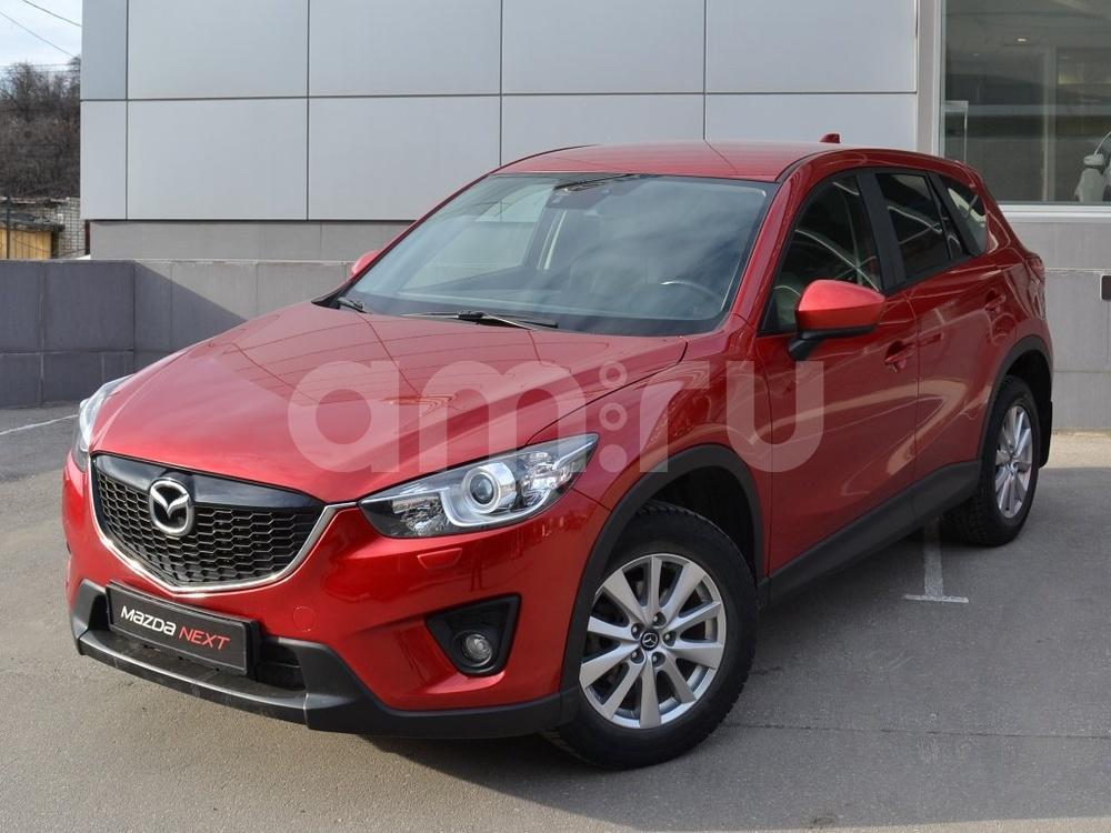 Mazda CX-5 с пробегом, красный металлик, отличное состояние, 2014 года выпуска, цена 1 169 000 руб. в автосалоне Джейкар Trade-in (Нижний Новгород, ул. Бринского, д. 12)