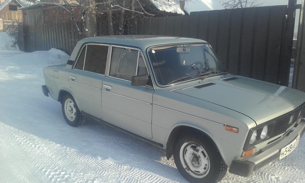 Подержанный ВАЗ (Lada) 2106, хорошее состояние, серебряный металлик, 2001 года выпуска, цена 50 000 руб. в Челябинской области