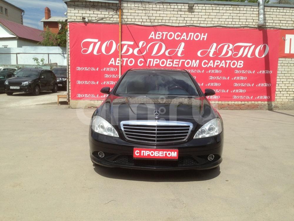 Mercedes-Benz S-Класс с пробегом, черный , отличное состояние, 2006 года выпуска, цена 769 000 руб. в автосалоне Победа-Авто (Саратов, ул. Чапаева, д. 173)