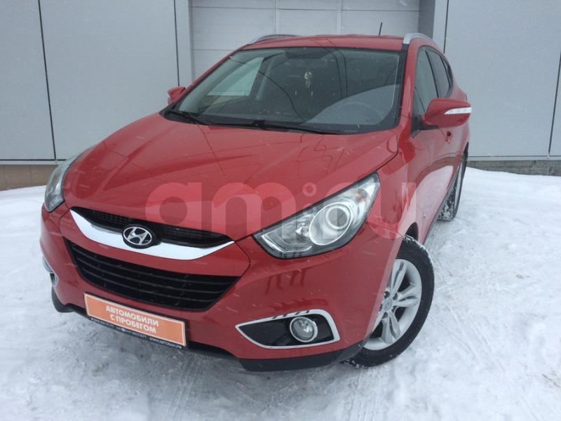 Hyundai ix35 с пробегом, красный , отличное состояние, 2013 года выпуска, цена 969 000 руб. в автосалоне  ()