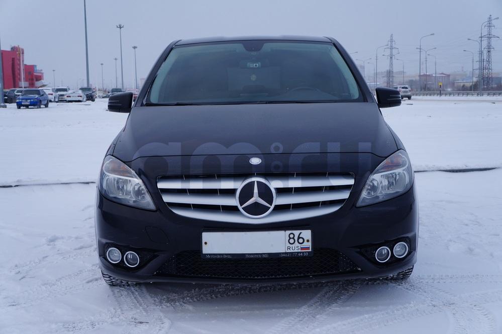 Подержанный Mercedes-Benz B-Класс, отличное состояние, черный , 2012 года выпуска, цена 860 000 руб. в ао. Ханты-Мансийском Автономном округе - Югре