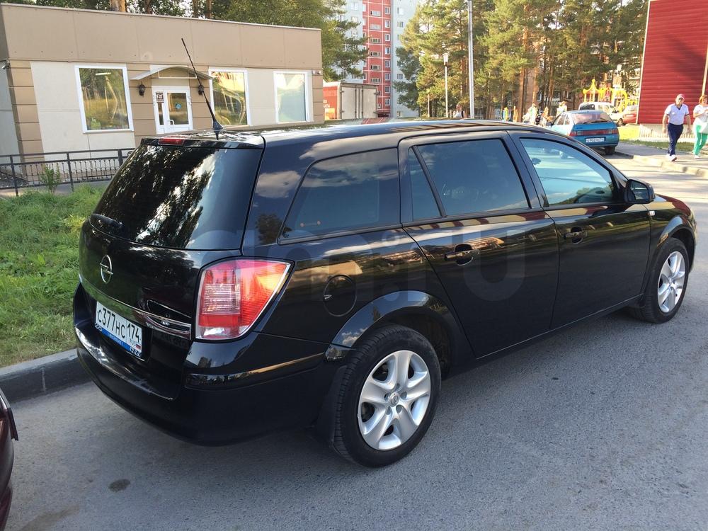 Подержанный Opel Astra, отличное состояние, черный , 2011 года выпуска, цена 400 000 руб. в Челябинской области