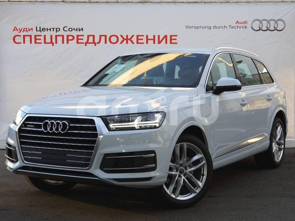 Новый авто Audi Q7, белый , 2016 года выпуска, цена 4 950 000 руб. в автосалоне Ауди Центр Сочи (Сочи, ул. Кипарисовая, д. 16/1)