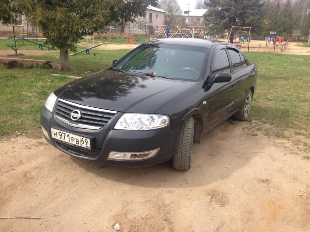 Подержанный Nissan Almera Classic, среднее состояние, черный , 2007 года выпуска, цена 240 000 руб. в Тверской области