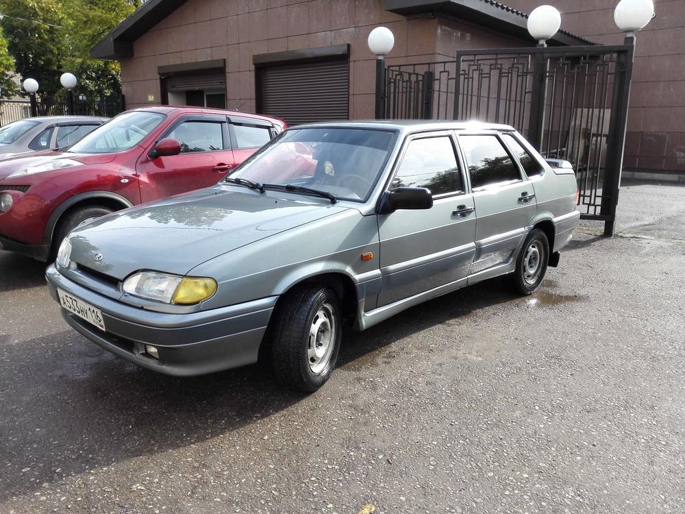 Подержанный ВАЗ (Lada) 2115, хорошее состояние, серый , 2007 года выпуска, цена 115 000 руб. в республике Татарстане