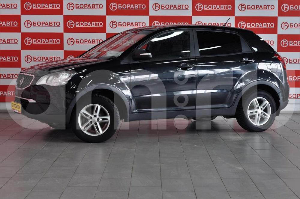 SsangYong Actyon с пробегом, черный , отличное состояние, 2011 года выпуска, цена 510 000 руб. в автосалоне БОРАВТО Эксперт Борисоглебск (Борисоглебск, ул. Матросовская, д. 127)
