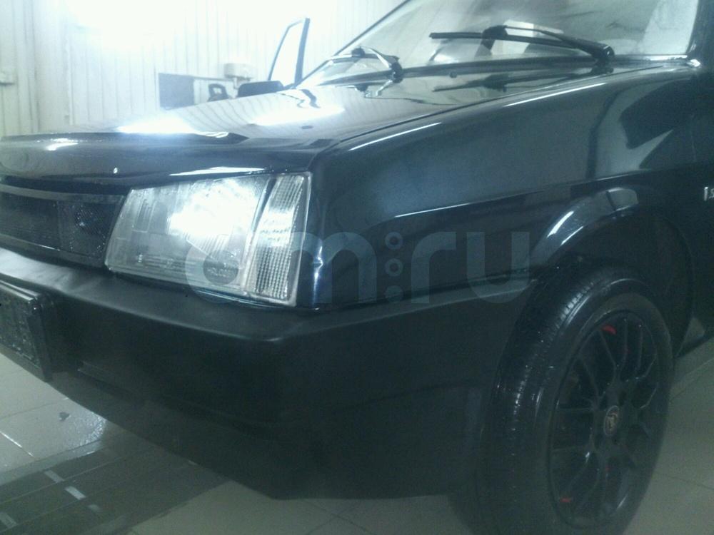 Подержанный ВАЗ (Lada) 2109, отличное состояние, черный , 2005 года выпуска, цена 84 000 руб. в Челябинской области