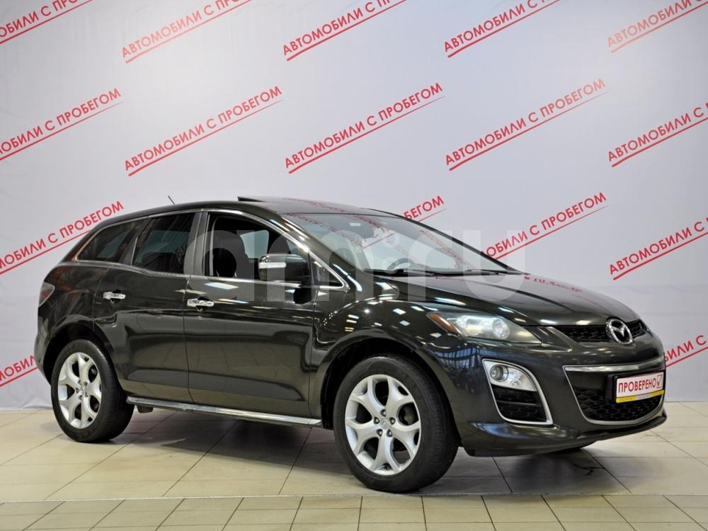 Mazda CX-7 с пробегом, черный , отличное состояние, 2010 года выпуска, цена 629 000 руб. в автосалоне NORTH-AUTO (Санкт-Петербург, пр-кт Маршала Блюхера, д. 54, корп. 1)