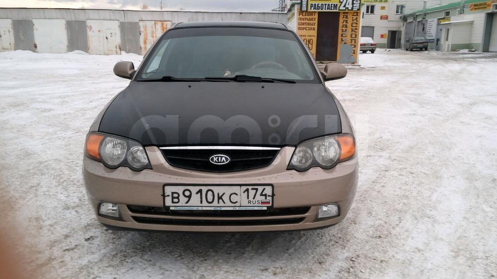 Подержанный Kia Shuma, отличное состояние, бежевый , 2003 года выпуска, цена 185 000 руб. в Челябинской области