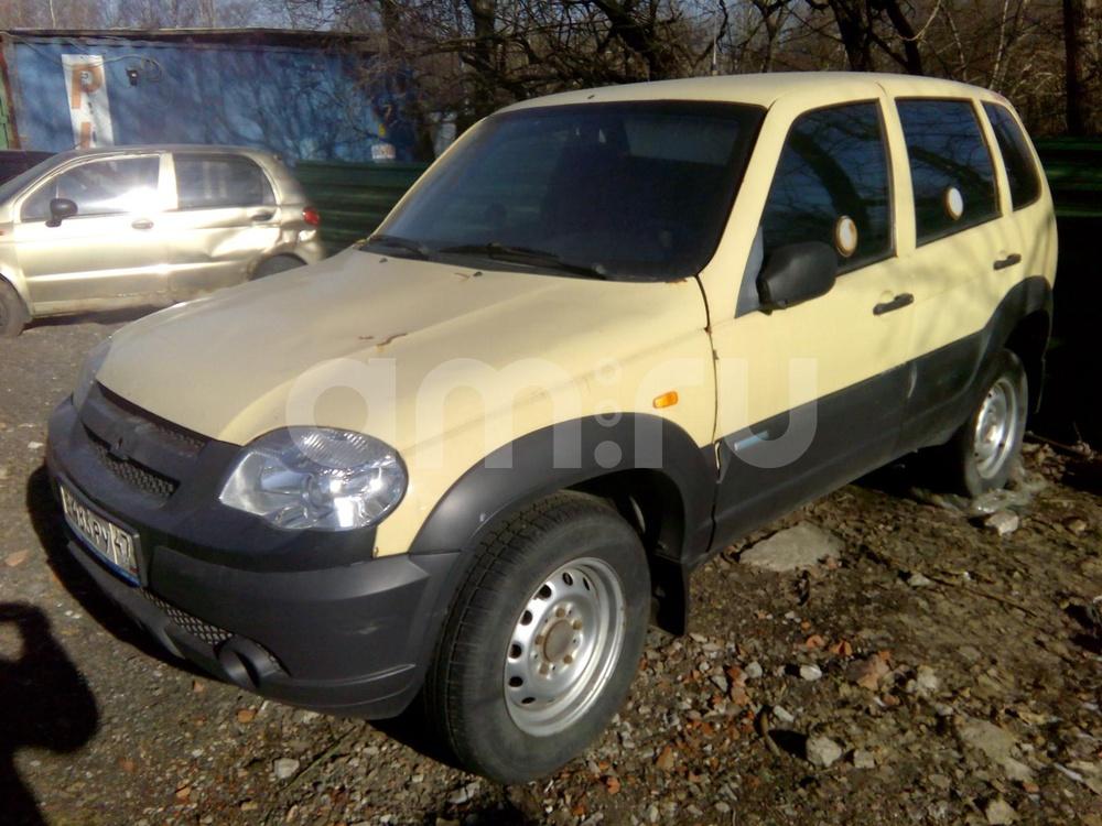 Chevrolet Niva с пробегом, бежевый , хорошее состояние, 2010 года выпуска, цена 159 000 руб. в автосалоне ИР-Авто (Санкт-Петербург, пр-кт Ириновский, д. 1С)