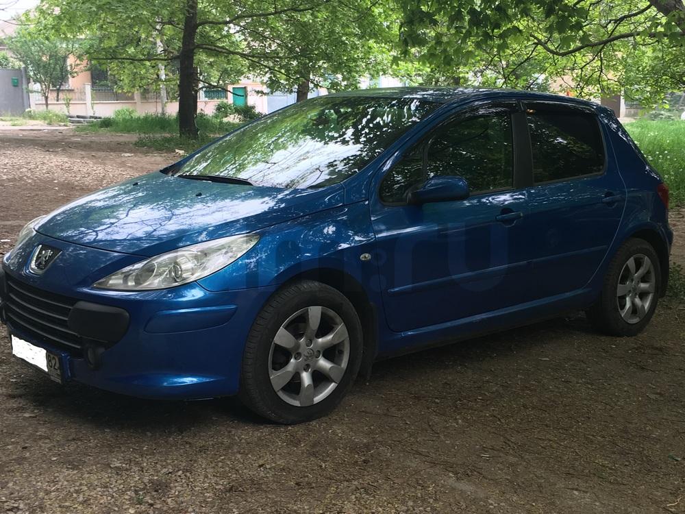Подержанный Peugeot 307, отличное состояние, синий , 2006 года выпуска, цена 330 000 руб. в Крыму