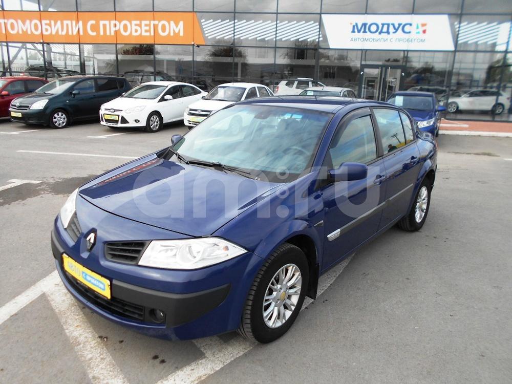 Renault Megane с пробегом, синий , отличное состояние, 2006 года выпуска, цена 255 000 руб. в автосалоне  ()