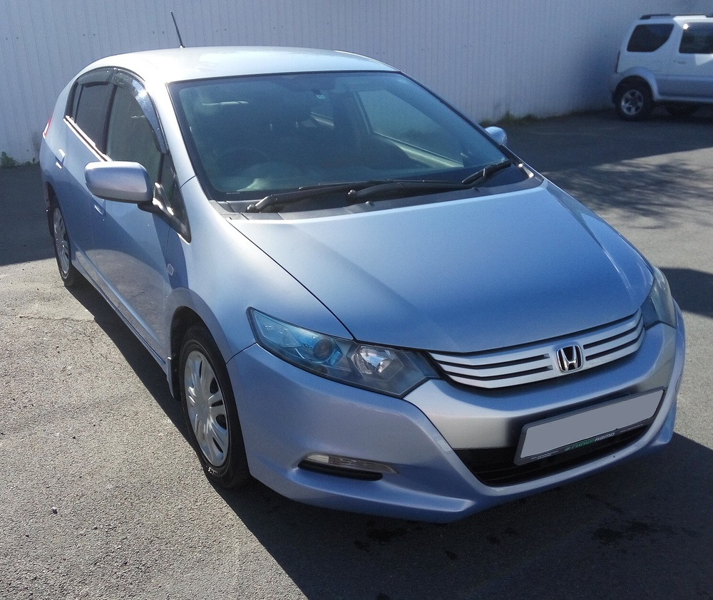 Подержанный Honda Insight, хорошее состояние, голубой , 2009 года выпуска, цена 450 000 руб. в Владивостоке