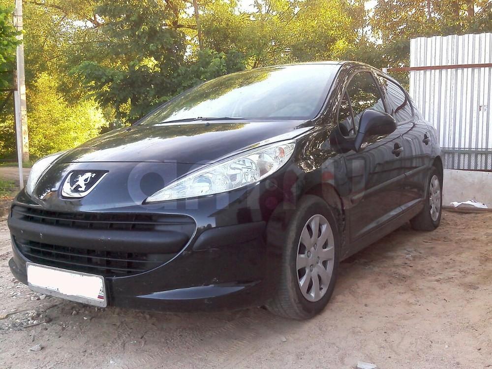 Подержанный Peugeot 207, хорошее состояние, черный , 2008 года выпуска, цена 285 000 руб. в Смоленской области
