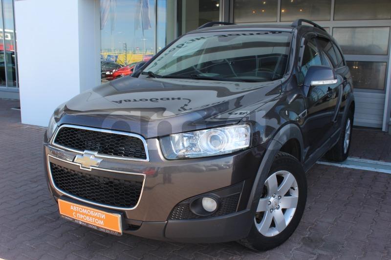 Chevrolet Captiva с пробегом, серый , отличное состояние, 2012 года выпуска, цена 899 000 руб. в автосалоне Автобан-Запад (Екатеринбург, ул. Металлургов, д. 67)