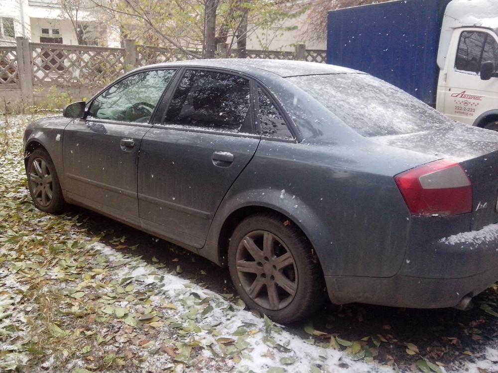 Подержанный Audi A4, среднее состояние, серый , 2004 года выпуска, цена 310 000 руб. в Челябинской области
