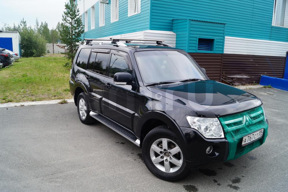 Подержанный Mitsubishi Pajero, отличное состояние, черный , 2011 года выпуска, цена 1 100 000 руб. в ао. Ханты-Мансийском Автономном округе - Югре