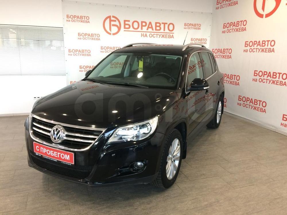 Volkswagen Tiguan с пробегом, черный , отличное состояние, 2008 года выпуска, цена 584 000 руб. в автосалоне  ()