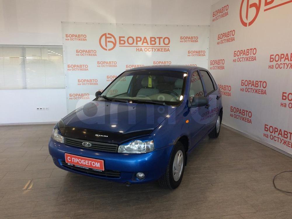 ВАЗ (Lada) Kalina с пробегом, синий , отличное состояние, 2006 года выпуска, цена 118 000 руб. в автосалоне  ()