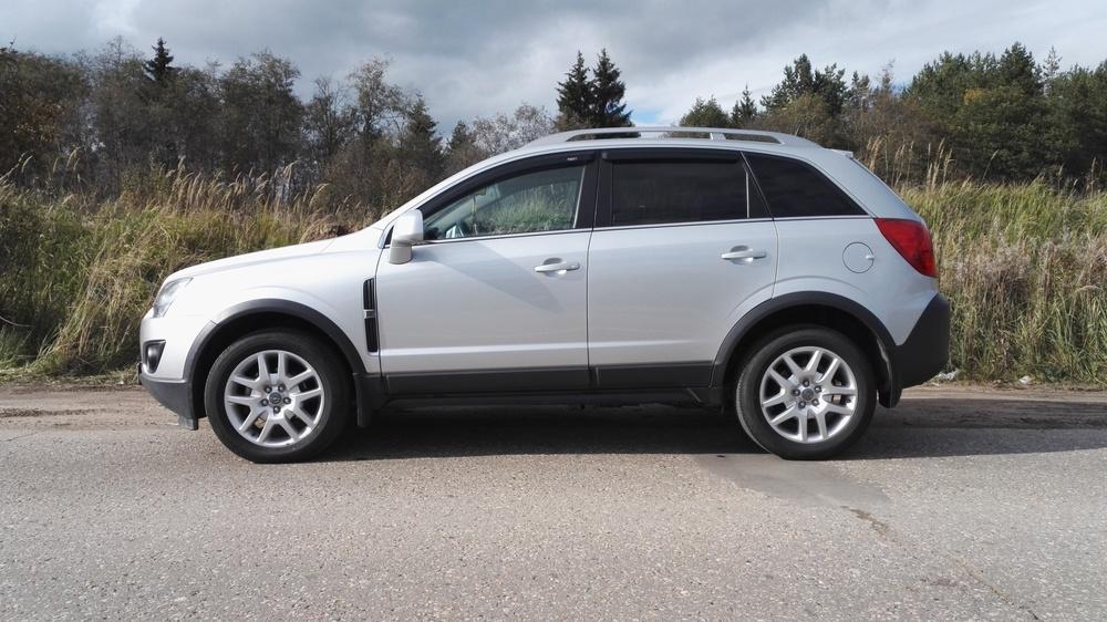Подержанный Opel Antara, отличное состояние, серебряный , 2012 года выпуска, цена 920 000 руб. в Смоленской области
