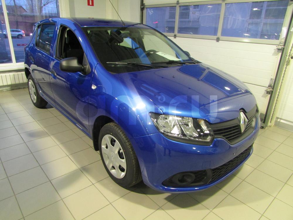 Renault Sandero с пробегом, синий , отличное состояние, 2016 года выпуска, цена 551 000 руб. в автосалоне  ()
